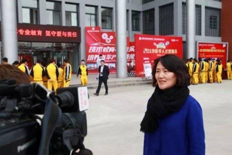 央视再访新华教育集团 职业教育成就孩子更多梦想