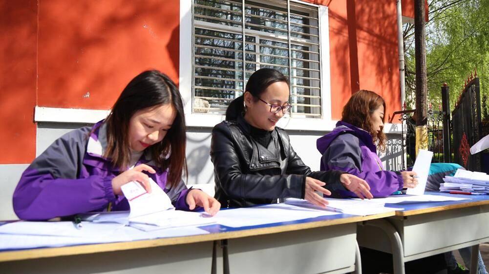 山西新华电脑学校学生体检现场报道