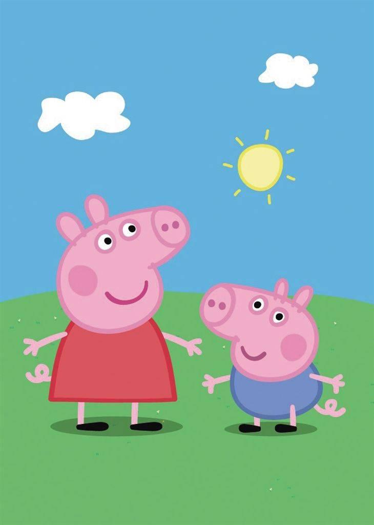 从小猪佩奇商标被恶意抢注,看动画形象背后的巨大商机