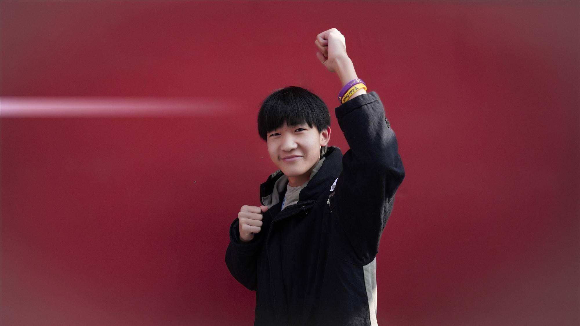 【学生故事】常浩楠 :我的未来不迷茫